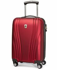 Atlantic Lumina 20in.Carry-On Hardside Exp.Spinner- Red- by Travelpro- MSRP $240