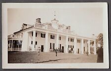 VINTAGE 1929 GEORGE WASHINGTON'S HOME HOUSE MOUNT VERNON VIRGINIA OLD PHOTO