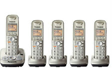 Panasonic KX-TG4225 Expandable Digital Cordless Answering System with 5 Handsets