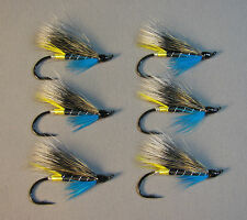 Blue Charm Atlantic Salmon Flies - 6 Fly MULTI-PACK - Sizes 4, 6 and 8