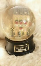 NIB Givenchy Snow Globe Music Box Winter In Paris Limited Edition La Vie En Rose