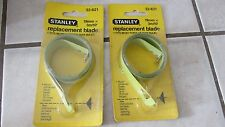 "Stanley REPLACEMENT Tape Measure Ruler Blade .75""x10'  No. 32-621 - Lot of 2 New"