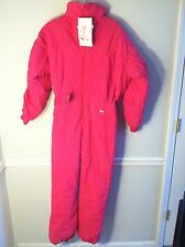 New Subello women's size 12 pink ski suit outfit 5353 snowboarding one piece 1