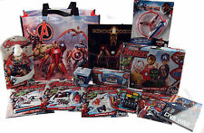 Marvel Avengers 13 Piece MEGA Christmas 2016 Set In Shopper Gift Bag