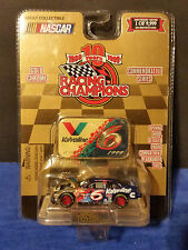 1999 Racing Champions Gold Chrome 1 of9,999 #6 Mark Martim Valvoline