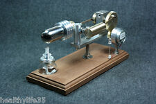 2015 New Hot Air Stirling Engine Motor Model with Generator and LED Light