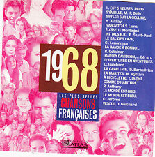 CD CHANSONS FRANCAISES 1968 ANTHONY/MONTAGNE/GUICHARD/C.JEROME/BELLE/MYRIAM/LAMA