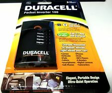 Duracell Pocket Inverter 100 with Advanced 2.1 Amp USB