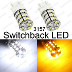 3157 3457 3057 Switchback LED Turn Signal Light Bulbs (2 Pieces)