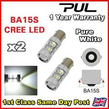 2PC = 1156 P21W CREE REVERSE LIGHT BULB LED GOLF R32 AUDI S3 RS4 RS6 A6 GT TDI