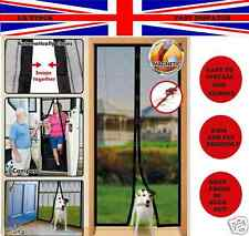 New Magnetic Fastening Magic Curtain Hands Free Fly Bug Insect Screen Door Mesh