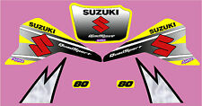 SUZUKI LT80  GRAPHIC / DECAL KIT FACTORY STYLE YELLOW, WHITE OR RED