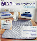 Iron Anywhere Weighted Dryer Ironing Mat / Pad, Perfect for Home, Dorm, Travel.