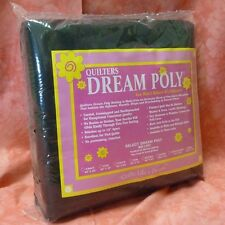 Quilters Dream Black Poly Select Quilt Batting: Crib Size