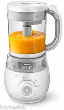 Nuevo Philips Avent SCF875/01 4 en 1 batidora de vapor saludable Baby Food Maker