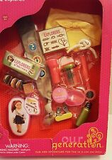 NEW OUR GENERATION AMERICAN JOURNEY 18 DOLL GIRL SCOUT CAMPING SMORES FLASHLIGHT