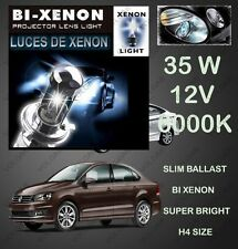 Bi-Xenon HID Kit H4 Size Hi-Low Beam 35W 6000K Dimond White FOR VOLKSWAGEN VENTO