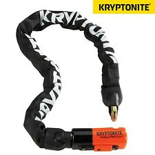 Kryptonite Evolution Series 4 1090 Integrated Chain Bike Cycle Lock 10mmx90cm