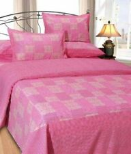 Elegance Check Cotton Double Bedsheet With 2 Pillow Cover- (CHB009)