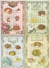 Papier De Riz Gâteaux feuilles Scrapbook