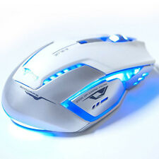5 Buttons E-3lue Mazer II 6D 2500 DPI Blue LED 2.4GHz Wireless Gaming Mouse Mice