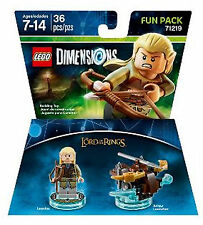 LEGO Dimensions Lord Of The Ring Legolas 71219 Fun Pack  New In Box