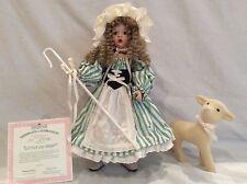 Little Bo Peep Porcelain Doll By Ashton Drake Galleries