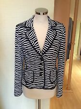 Gerry Weber Jacket Bnwt Size12 Black And White RRP £150 Now £59