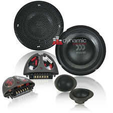 "Morel VIRTUS 402 4"" Component Car Speakers 2-Way Virtus402 System 300 Watts New"