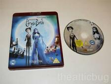 HD DVD ~ Tim Burton's Corpse Bride ~ Johnny Depp / Helena Bonham Carter