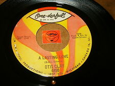 OTIS CLAY - A LASTING LOVE - GOT TO FIND A WAY  / LISTEN - SOUL POPCORN