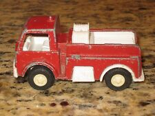 Vintage Tootsietoy Made in USA Fire Truck  Red 1969-1970's
