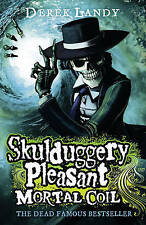 NEW  (5) SKULDUGGERY PLEASANT - MORTAL COIL Derek Landy Colour cover ed