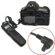 Pour Canon 5D Mark II, 7D Télécommande Intervallomètre Déclencheur Retardateur