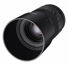 Rokinon 100mm F2.8 ED UMC Telephoto Macro Lens for Micro Four Thirds - 100M-MFT
