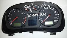 VW Golf IV 4 Bora 1,4 16V 110TKM Tacho VDO Tachometer 1J0920826 Kombiinstrument