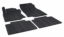 All Weather Rubber Floor Mats {fits 2014-2016 Nissan X-Trail} - 4 Piece - Black