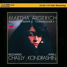Rachmaninoff 3; Tchaikovsky 1 [HDCD] (CD, Nov-2012, K2 HD)