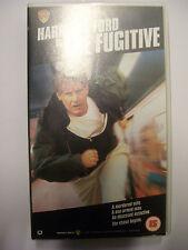 THE FUGITIVE [1993] VHS – Thriller - Harrison Ford, Tommy Lee Jones, Sela Ward