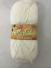 TEDDY CLEOPATRA COTTON DK CRAFT COTTON SHADE 01 WHITE  *SPECIAL PRICE*