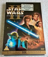 Star Wars - Episode 2 - Attack Of The Clones (DVD, 2005, 2-Disc Set) - THX