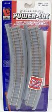 Life Like HO Scale Nickel Silver 18'' Radius Curve Track NEW 4Pk 21333