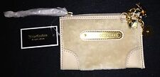 Juicy Couture Beige portamonete chiave catena Wallet & CHARMS Rrp £ 49.50 ora £ 22:50
