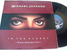 "Michael Jackson - In the Closet 4 Mixes Behind Door 12"" (from Dangerous LP) VG+"
