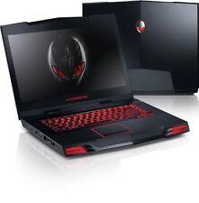 """Alienware m15x i7 Q720 8gb Ram 500gb HDD Win10 Gaming Laptop PC 15"""" 1920x1080"""