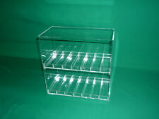 "E-Juice, E-Cigarette, E-liquid Display Case, 1¼"" Slot Size"