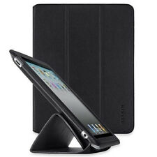 Belkin iPad 4 3 2 IN PELLE TRIFOLD FOLIO STAND CASE COVER NERO f8n650cwc00
