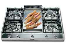 "Ilve UHP965FD 36"" Pro-Style Gas Rangetop 4 Sealed Burners Stainless Steel"