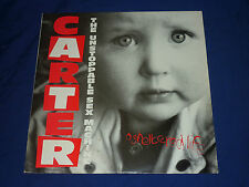 "CARTER THE UNSTOPPABLE SEX MACHINE ""SHELTERED LIFE"" 12"" VINYL ***AUTOGRAPHED***"