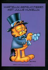 Comics postcard Garfield Cat Jim Davis WW Dutch in Costume